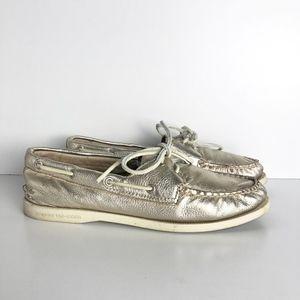 Sperry Topsider Gold Original Vida Boat Shoe